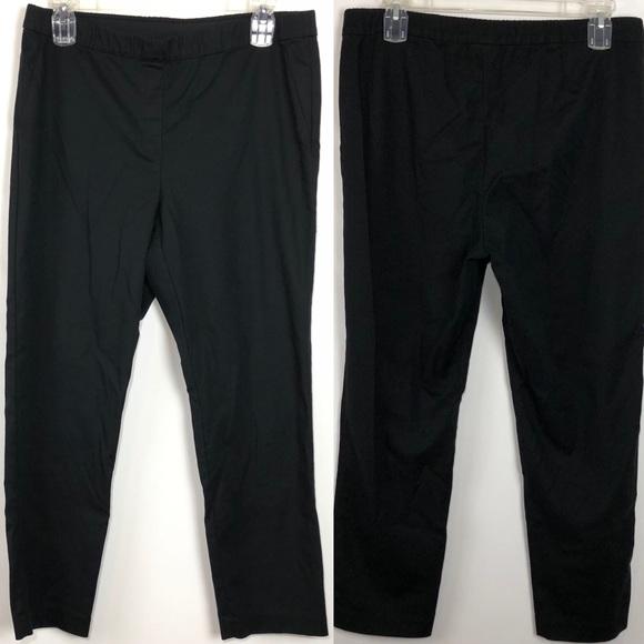 cda7905157d714 J. Jill Pants   J Jill Essential Women Slim Ankle Black 18   Poshmark
